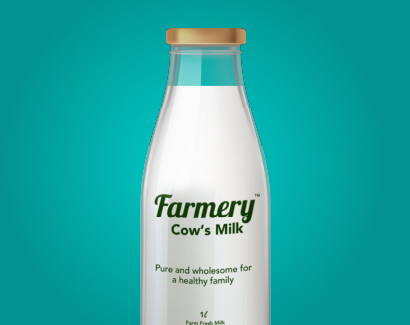 Cow Milk - Bottle